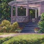 """Victorian Porch"" by susansartgallery"