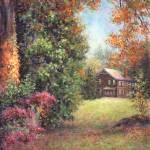 """Blazing Ivy"" by susansartgallery"