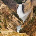 """Lower Yellowstone Falls"" by dkocherhans"
