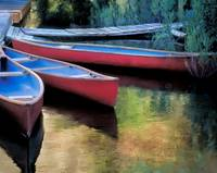 Canoes At Rest