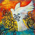 """""""Peace Flew In"""" by juliryan"""
