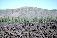 Lava Flows at Sunset Crater National Park