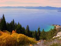 Lake Tahoe from the Flume trail