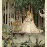 """The Reflection in the Pool by Kay Nielsen"" by animationarchive"