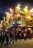 The Temple Bar at Temple Bar, Dublin
