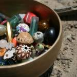 """Bowl of Beads - Full Color"" by sonje"