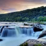 """SandStone Falls, West Virginia, HDR, Brendan Reals"" by BrendanReals"