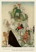 Six Brothers Riding Out To Woo by Kay Nielsen