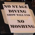 """No Stage Diving"" by VernonHawkins"
