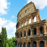"""Roman Colosseum in Rome, Italy"" by arttraveler"
