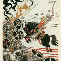 """The Lad in the Battle by Kay Nielsen"" by animationarchive"