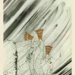 """A Snowdrift Carried Them Away by Kay Nielsen"" by animationarchive"