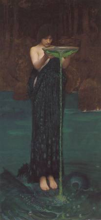 John William Waterhouse's Circe Invidiosa
