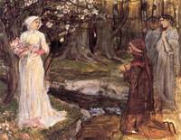 John William Waterhouse's Dante and Beatrice