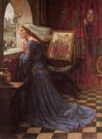 John William Waterhouse's Fair Rosamund
