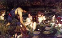 John William Waterhouse's Hylas Nymphs