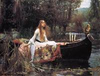 John William Waterhouse's Lady Shalott
