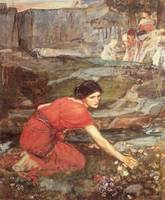John William Waterhouse's Maidens Picking