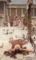 John William Waterhouse's St Eulalia