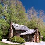 """Cabin in the Smoky Mtn Natnl Park"" by DuffyPhoto"