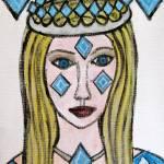 """Queen of Diamonds"" by HeidiZeile"