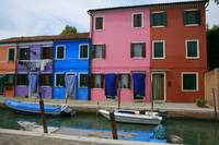 Burano's Colorful Houses