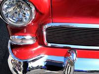 red car chrome
