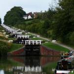 """Caen Hill Locks, Devizes, Wiltshire, England"" by nemosphotography"