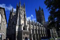 The beautiful Canterbury Cathedral
