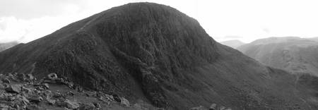 Great Gable - Black & White
