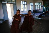 Monks in Shan State
