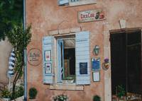 A shop in Gordes