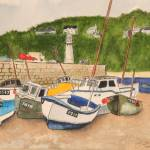 """The boats of Cornwall"" by cgcinc"