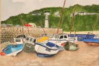 The boats of Cornwall