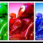 """Harley Davidson Tri Color"" by palmsrick"