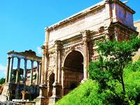 Arch of Titus, Forum Romanum Photo