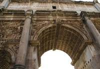 Arco di Tito (Arch of Titus) location: Roman Forum