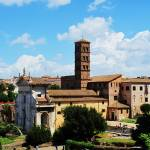 """Ruins of the Roman Forum PANORAMA VIEW"" by arttraveler"