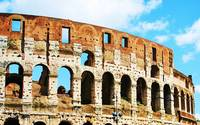 Roman Coliseum, originally the Flavian Amphitheatr