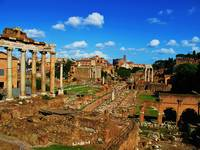 PICTURE OF ROME -  ROMAN FORUM