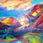 """TUCSON HILLS"" by kathymbrady"