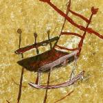 """Abstract Rocking Chair II"" by pattypaluda"
