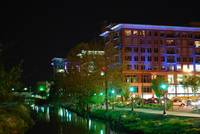 Downtown Greenville, SC on the river