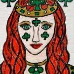 """Queen of Clubs"" by HeidiZeile"