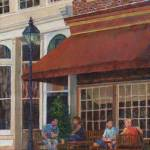 """Corner Restaurant"" by susansartgallery"