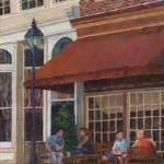 """Corner Restaurant"" by susansartgallery"