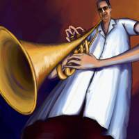 Trumpet Art Prints & Posters by Alexander Pacheco