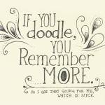 """""""If you Doodle...."""" by CatScott"""