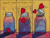 Heart Frees A Friend To Fly