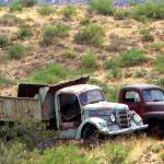 """Castoffs - Rustic Old Abandoned Trucks"" by JMcQ"